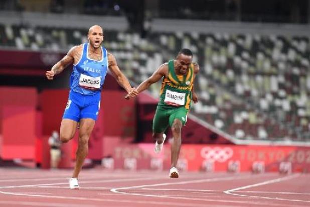 Italiaan Jacobs snelt naar goud op 100 meter