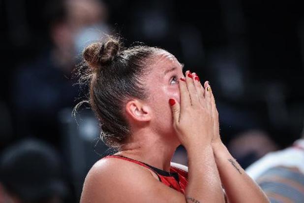 """Marjorie Carpréaux met sa carrière de basketteuse """"entre parenthèses"""""""