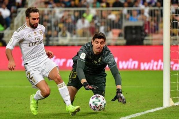Supercoupe d'Espagne - Courtois décisif lors des tirs au but pour offrir une 11e Supercoupe au Real Madrid