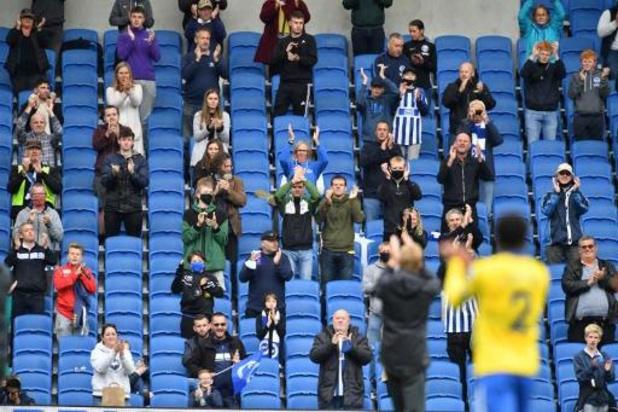 Coronavirus - 2.500 spectateurs ont assisté à Brighton/Chelsea, premier match avec public en Angleterre