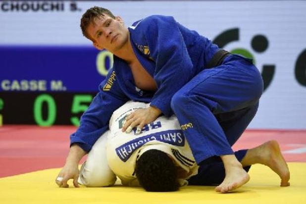 Championnats d'Europe de judo - Matthias Casse battu en finale de l'Euro