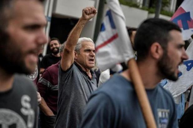 Opnieuw stakingen in Griekenland
