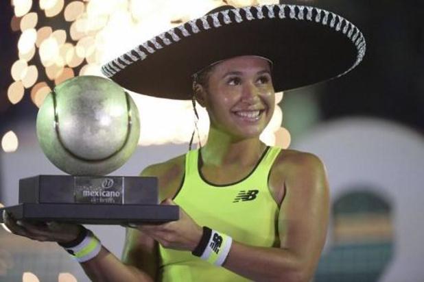WTA Acapulco - Heather Watson pakt de zege