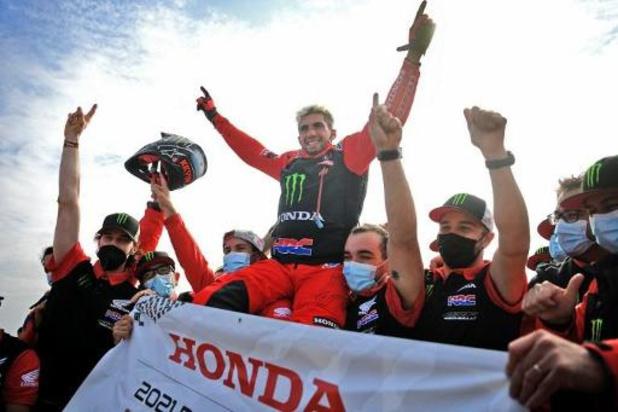 """Kevin Benavides, premier motard sud-américain à remporter le Dakar: """"Je suis super heureux"""""""