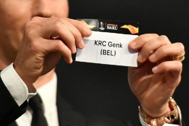 Genk jouera le vainqueur de Monaco-Sparta Prague s'il se débarrasse du Shakhtar