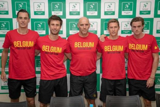 Coupe Davis: la Belgique devra jouer en Bolivie en septembre en barrage pour le groupe mondial