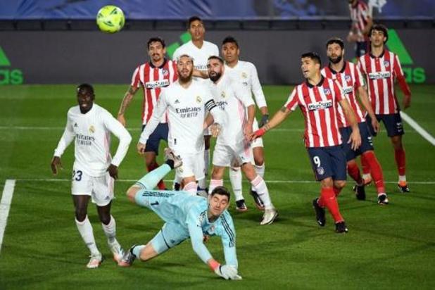 Les Belges à l'étranger - Le Real Madrid de Courtois inflige à l'Atlético de Carrasco sa première défaite en Liga