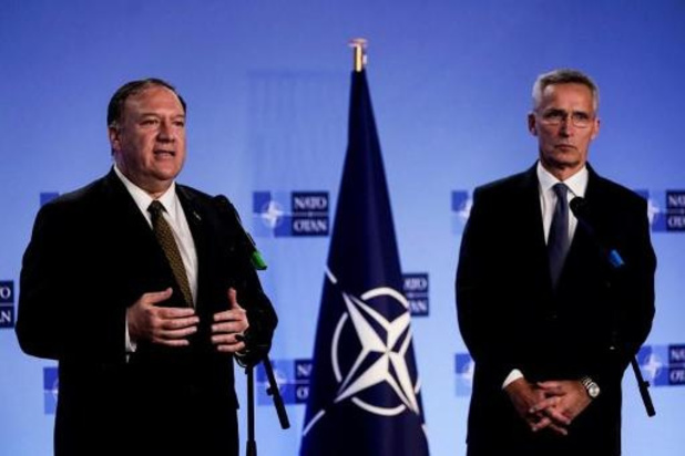 """Offensive turque en Syrie - Pompeo est venu expliquer à l'Otan """"ce que les Etats-Unis ont obtenu"""""""