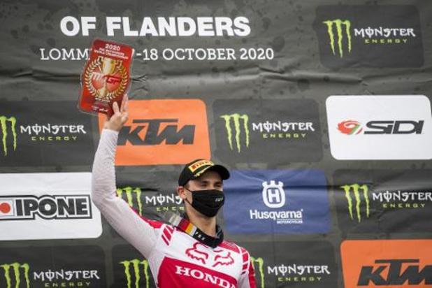 GP des Flandres: Victoire du Slovène Tim Gajser, Van Hoorebeek 7e et Van Doninck 8e et Desalle 12e