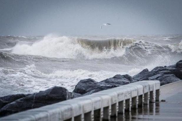 Odette est officiellement une tempête belge