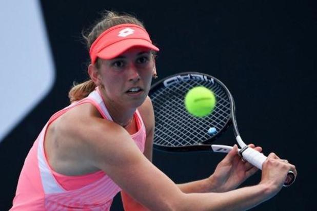 Australian Open - Elise Mertens stoot na moeizame eerste set door naar derde ronde