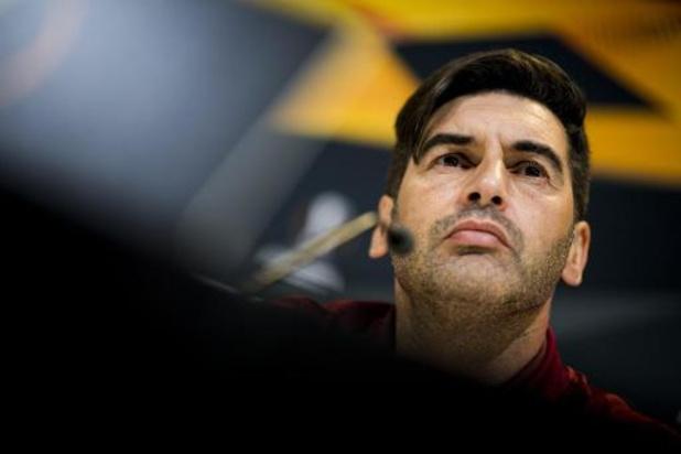 """Roma-coach Fonseca wil scoren in Gent: """"Mogen niet speculeren op een 0-0"""""""