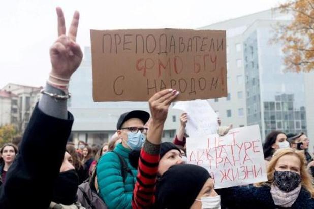 Wit-Russische oppositieleidster kondigt algemene staking aan