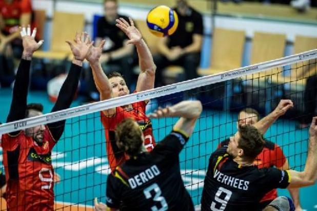 Europen Golden League de volley - Les Red Dragons débutent par une victoire