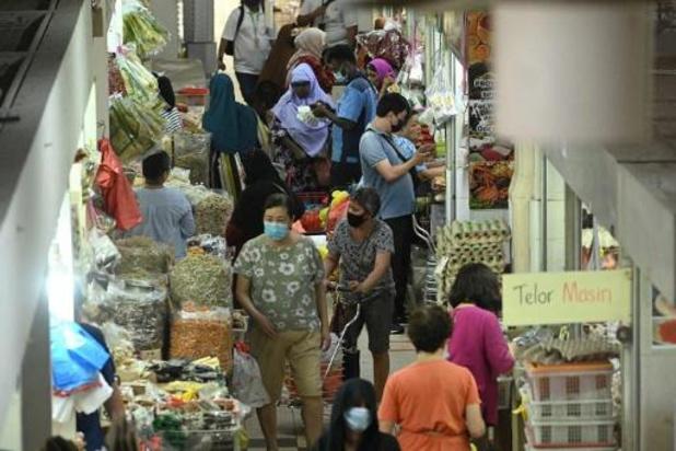 Sterke stijging in besmettingen in Singapore