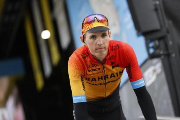 Dylan Teuns ne participera pas au Tour de France