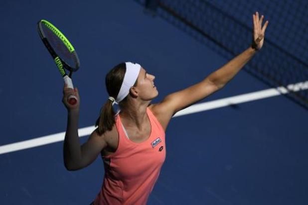 "US Open - Minnen na nederlaag tegen Vondrousova: ""Ervaring gaf de doorslag"""