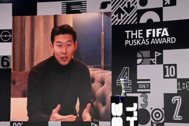 Heung-min Son (Tottenham) remporte le Prix Puskas du plus beau but de l'année