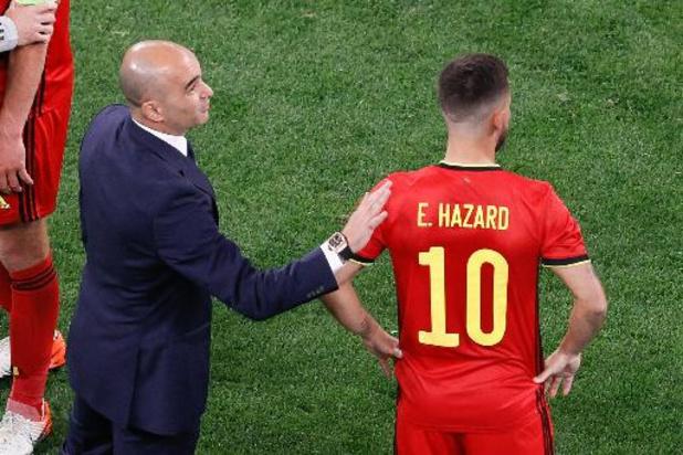 EK 2020 - Martinez tevreden met prestatie, einde toernooi voor Castagne