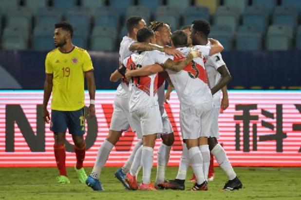 Copa America - Le Pérou se joue de la Colombie