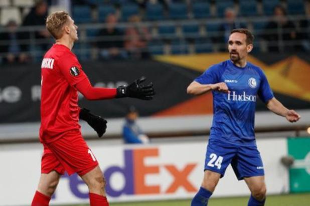 Europa League - Les Gantois, vainqueurs 3-2, n'en voulaient pas leur gardien Thomas Kaminski