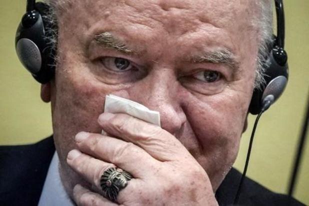 Ratko Mladic ook in beroep tot levenslang veroordeeld