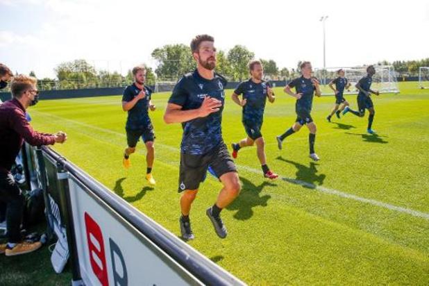 Le Club de Bruges jouera son premier match amical samedi contre OHL