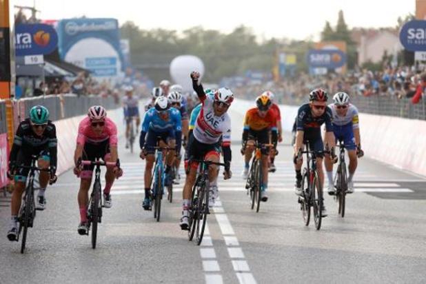 Giro - Diego Ulissi boekt tweede ritzege, Almeida steviger leider