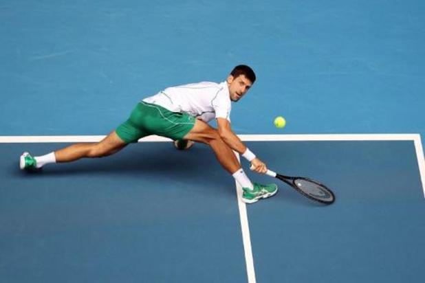 Djokovic avec autorité, Tsitsipas sans jouer, Dimitrov évincé de l'Open d'Australie