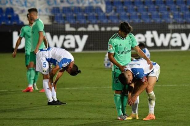 La Liga - Leganes relégué après un partage contre le Real Madrid