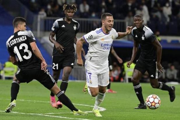 Champions League - Real Madrid van Courtois en Hazard gaat thuis onderuit tegen dwerg Sheriff Tiraspol