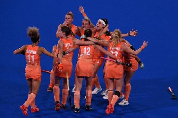 Les hockeyeuses néerlandaises championnes olympiques pour la quatrième fois