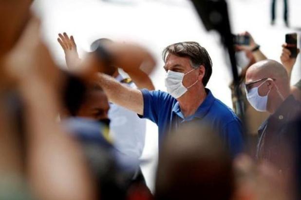 Diffusion par la justice brésilienne d'une vidéo truffée de dérapages de Bolsonaro