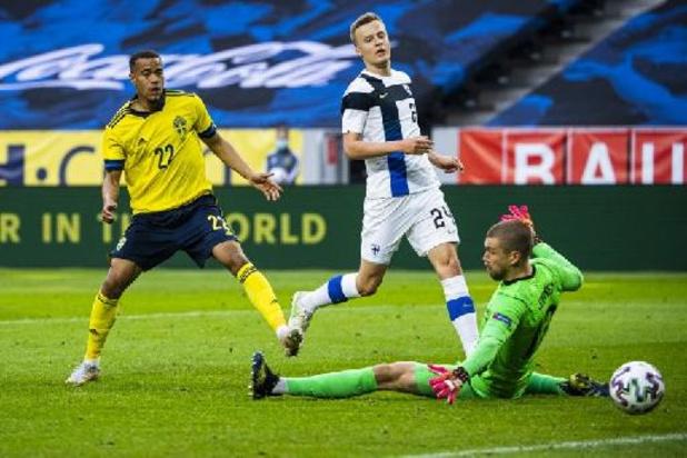 Euro 2020 - La Finlande, adversaire des Diables à l'Euro, s'incline en Suède