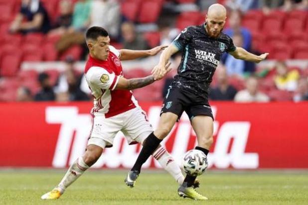 Belgen in het buitenland - Ajax kent weinig moeite met Waalwijk, Emond redt een punt voor Nantes
