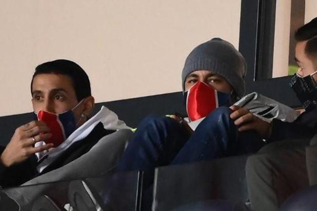 Neymar, blessé, n'est pas dans le groupe du PSG pour Barcelone