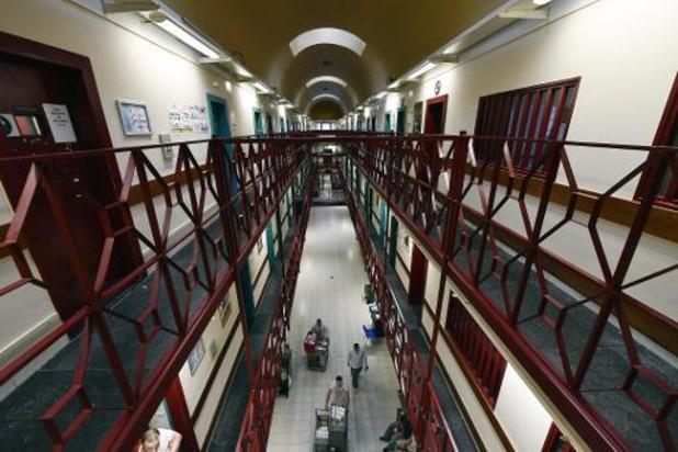 Arrêt de travail des gardiens de la prison d'Anvers