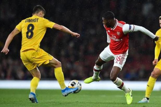 Europa League - Le Standard dominé à Arsenal