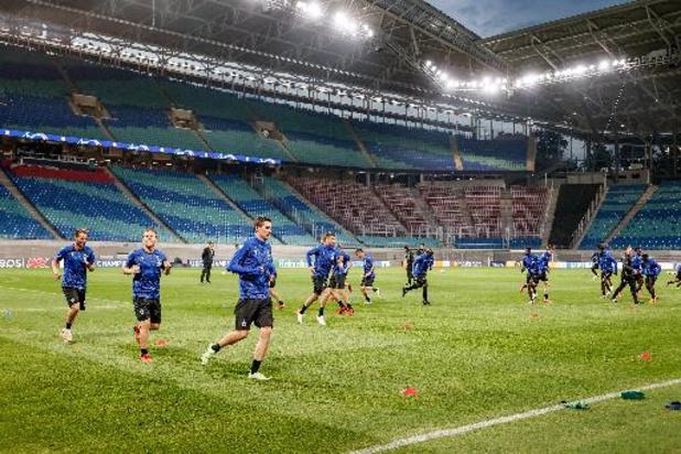 Ligue des Champions - Le Club Bruges vise un nouvel exploit ce mardi à Leipzig