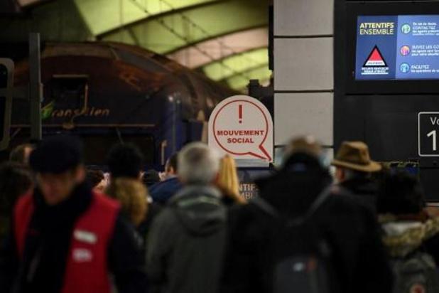 Franse spoorvakbond dreigt voort te staken tot Kerstmis
