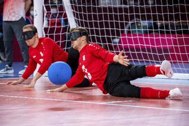 Jeux Paralympiques - Les Belgian Bulls pas encore qualifiés pour les quarts après leur revers contre l'Ukraine