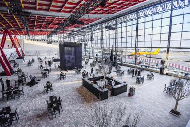 Le Skyhall de Brussels Airport sera un centre de vaccination, un autre ouvrira à Overijse