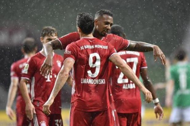 Bundesliga - Le Bayern Munich décroche son 30e titre de champion d'Allemagne, le 8e consécutif