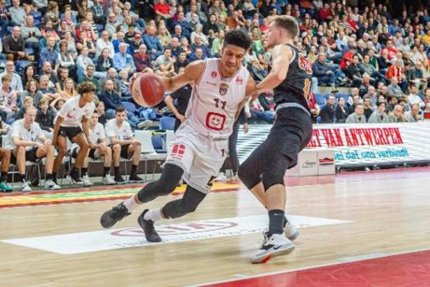 EuroMillions Basket League - Antwerp opent seizoen overtuigend tegen Leuven Bears