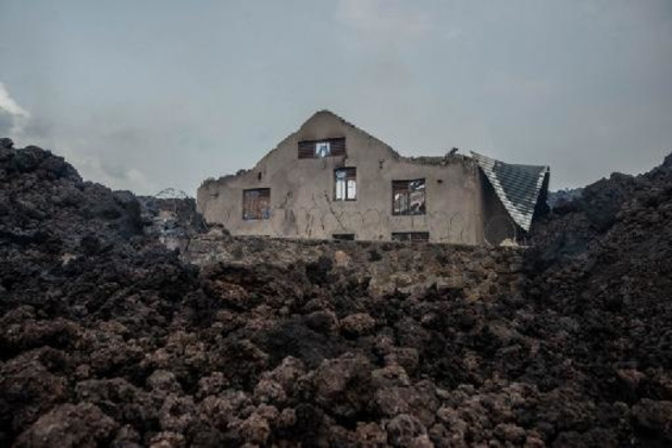 RDC: nombreuses secousses sismiques à Goma, au pied du Nyiragongo