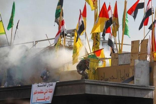 Twee raketten neergestort in 'groene zone' van Bagdad