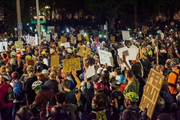 USA: nouvelle nuit tendue à Portland entre manifestants et policiers