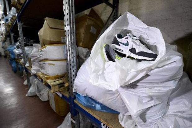 Acht procent van de Belgen laat zich misleiden door namaakproducten