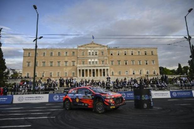 Rallye de Grèce: Thierry Neuville cinquième après les deux premières spéciales de vendredi