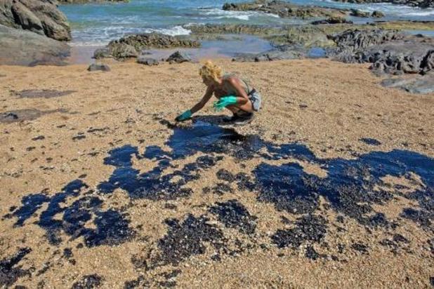 La marée noire atteint l'Etat de Rio